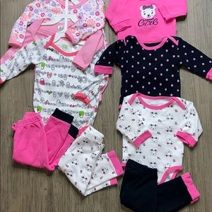 6-9month Girl Pajama Bundle